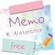 Download Sticky Memo Notepad *Watercolor* Free For PC Windows and Mac