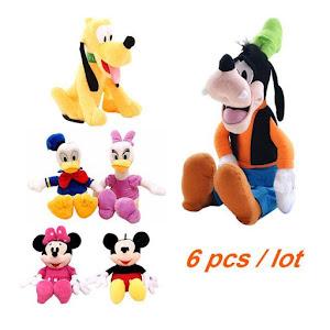 Set 6 jucarii din plus Disney 30 cm oferta reducere 5