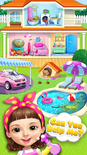 Sweet Baby Girl Cleanup 5 - Messy House Makeover  screenshots 3