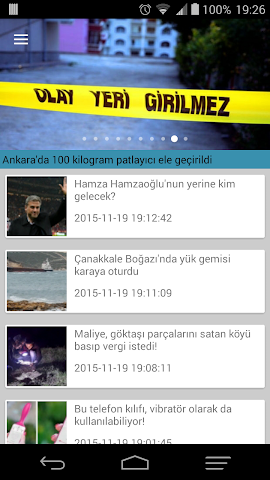 android t24 haber Screenshot 0
