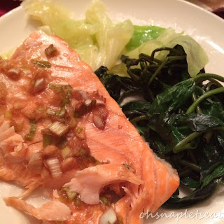 Asian Style Oven Baked Salmon