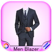 Men Blazer Photo Montage