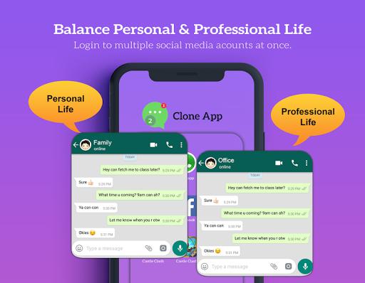 Clone App: Dual App Cloner 1.1.8 screenshots 2