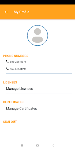 Screenshot for Claimatic 2.0 Mobile App in United States Play Store