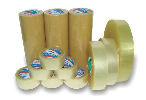 Băng dính cũng chính là sản phẩm làm từ các loại màng nhựa