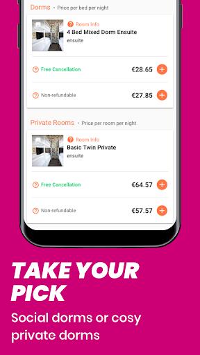 Hostelworld: Hostels & Backpacking Travel App screenshot 3
