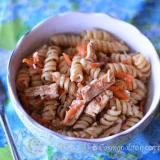 Italian Chicken Pasta Salad.