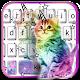 Colorful Cat Keyboard Theme apk