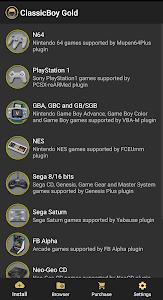 ClassicBoy Gold (64-bit) Game Emulator 5.1.1
