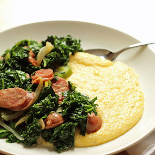 Quick and Cheesy Polenta