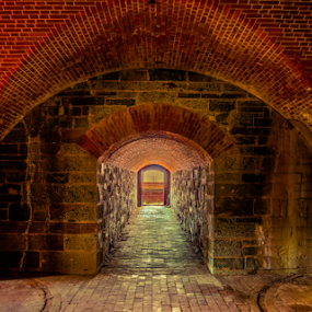 Caponniere by Dale Youngkin - Buildings & Architecture Public & Historical ( fort washington, national park, park, maryland, washington dc, fort,  )