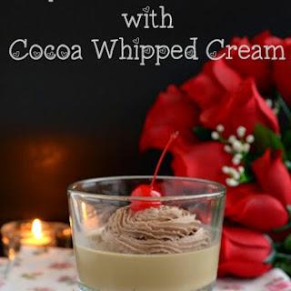 Espresso Panna Cotta with Cocoa Whipped Cream | Easy Panna Cotta Recipe