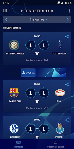 UEFA Champions League - Jeux  captures d'écran 4