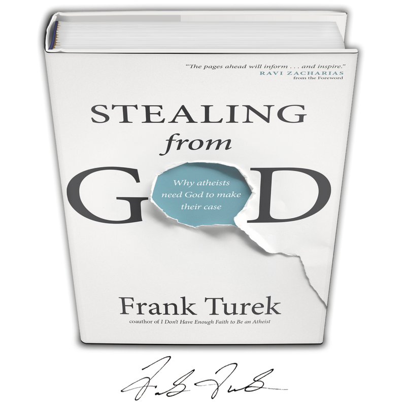 Signed Book Giveaway On Instagram Stealing From God By Frank Turek