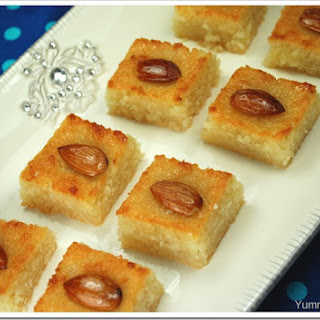 Almond Semolina Cake Recipes