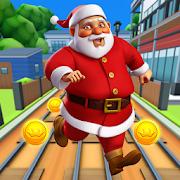 Subway Santa Xmas Run