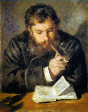 "Photo: Pierre-Auguste Renoir, ""Monet che legge"" (1872)"