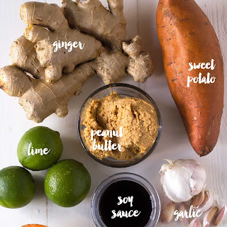 Sweet Potato Peanut Sauce