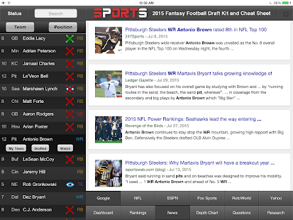 Fantasy Football Draft Kit- screenshot thumbnail