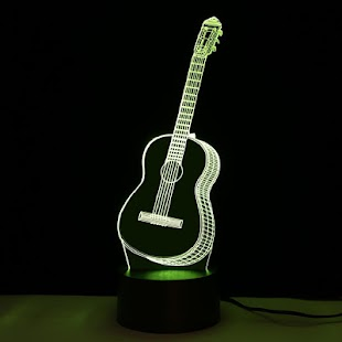 Guitar Lighting - LED flashlight - náhled