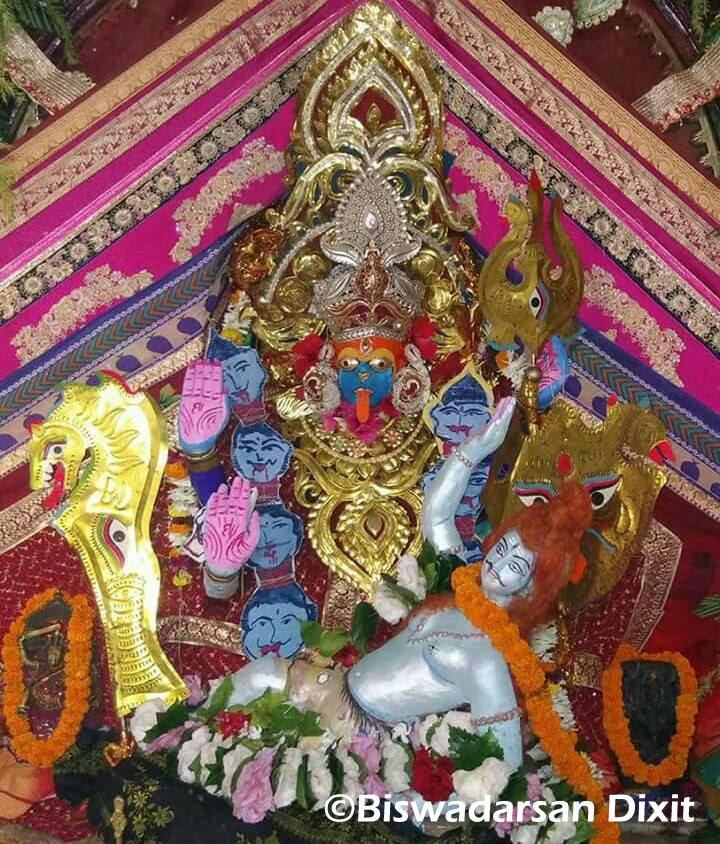 Mahakali Besha of Maa Bhadrakali