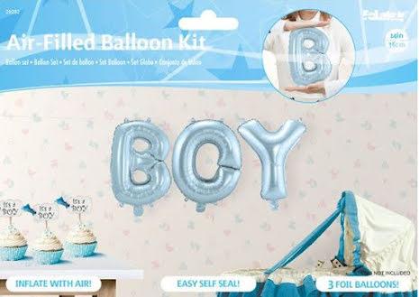 Folieballong, boy 36cm