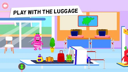 My Chompy Town - My Airport Games for Kids APK screenshot thumbnail 2