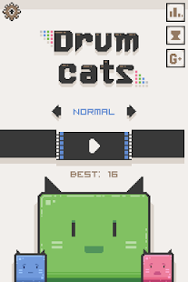 Drum Cats- screenshot thumbnail
