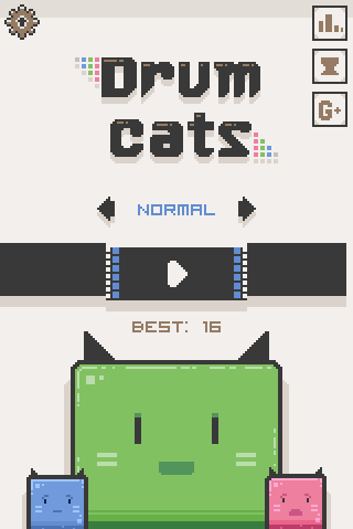 Drum Cats- screenshot