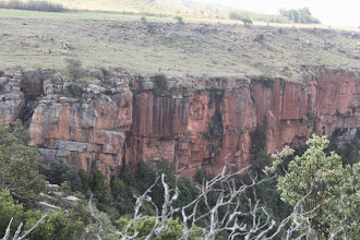 Photo: A picture of the God No Wall in Waterval Boven
