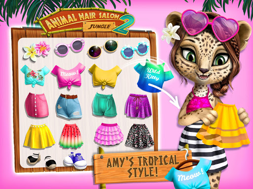 Jungle Animal Hair Salon 2 - Tropical Beauty Salon screenshots 13