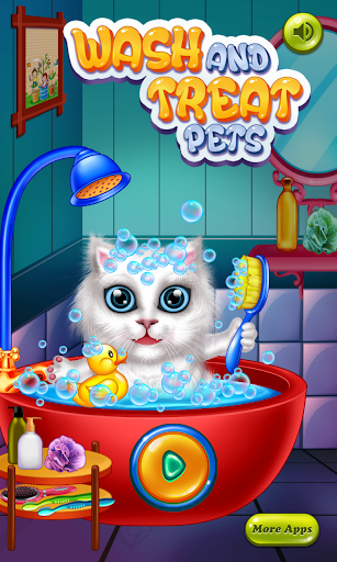 Wash and Treat Pets  Kids Game 1.0.3 DreamHackers 1