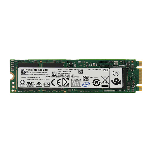 ổ cứng SSD Intel 128GB SSDSCKKW128G8X1 (545s) M.2