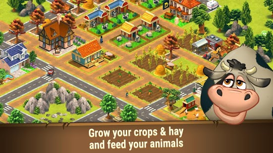 Farm Games: Farm Dream - Harvest Town Farming Day- screenshot thumbnail
