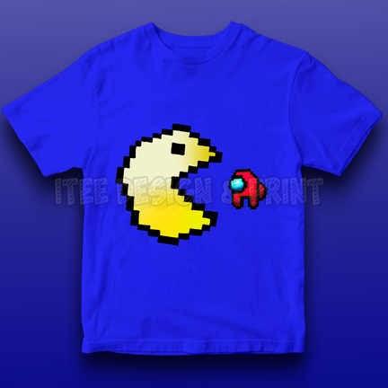 Pac-Man Game Among Us Impostor 13