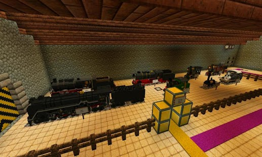 Train Of Mine Block Craft For PC And MAC