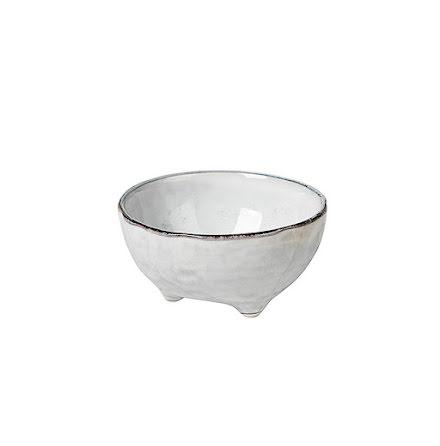 Nordic sand liten skål med fot 11x6 cm