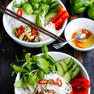 Vietnamese Vermicelli Bowl.