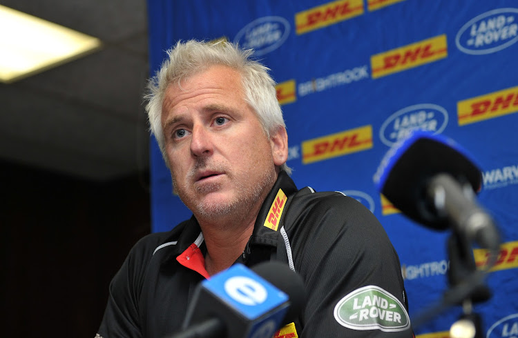 Robbie Fleck, head coach of the Stormers. File photo.