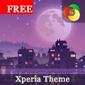 Night Live Wallpaper | Free Xperia™ Theme icon
