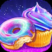 Tải Rainbow Galaxy Mirror Desserts Trò chơi nấu ăn miễn phí