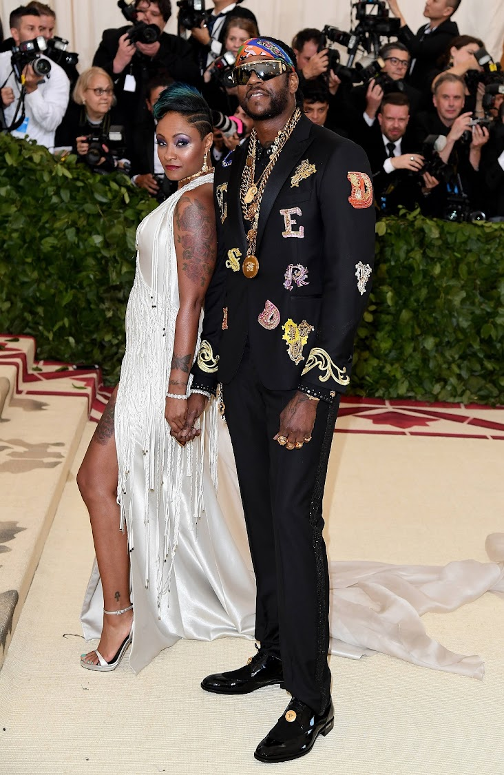 2Chainz and Kesha Ward before the proposal.