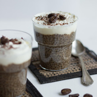 Coffee Latte Chia Pudding.