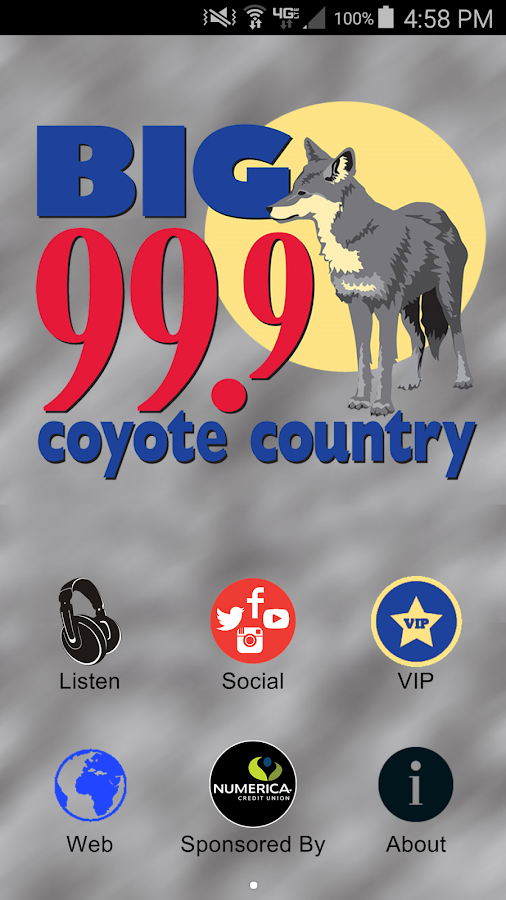 The Big 99.9 Coyote Country- screenshot