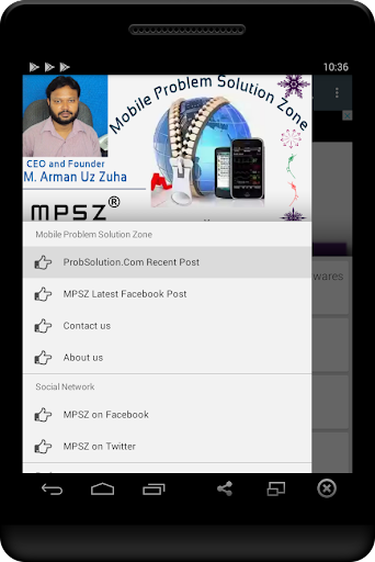 Mobile Problem Solution Zone