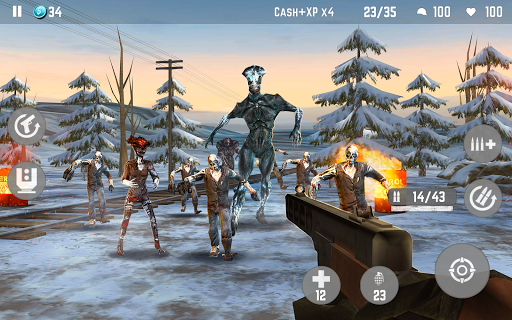 ZOMBIE Beyond Terror: FPS Survival Shooting Games - screenshot