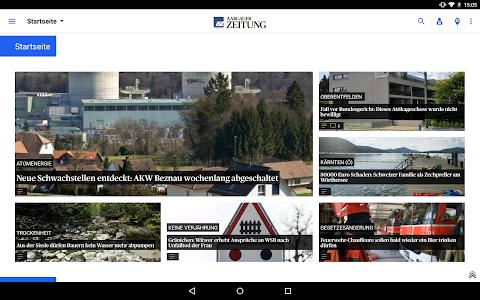 az Aargauer Zeitung News screenshot 5