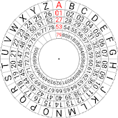Mexican Army Cipher Disk