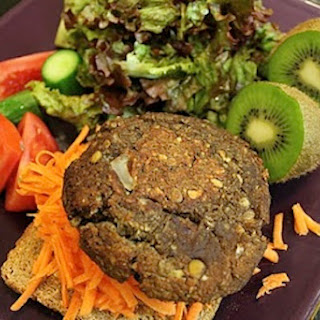 Lentil-Mushroom Burgers