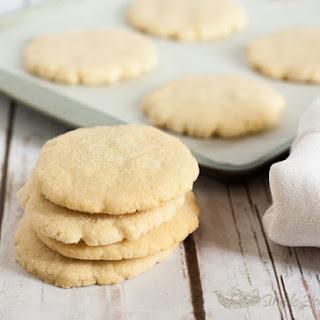 Sparkling Almond Gluten Free Sugar Cookies